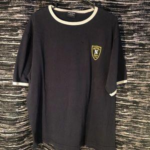 Vintage nautica sports club shirt